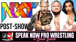 WWE NXT 2.0: THE NEW NXT PREMIERES, NEW NXT CHAMPION | Speak Now Pro Wrestling w/ Denise Salcedo