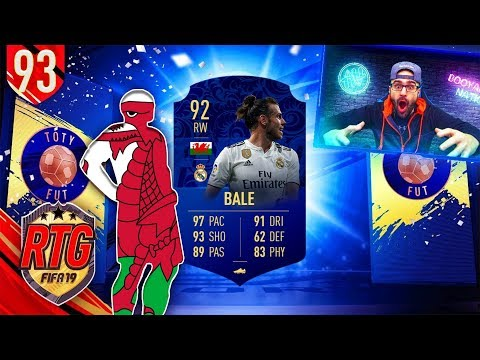 OMG YES I GOT TOTY BALE!! - FIFA 19 Ultimate Team RTG #92 thumbnail