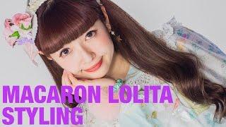 Kawaii MACARON LOLITA FASHION Styling by Misako Aoki | 美沙子青木のマカロンロリータファッション Thumbnail
