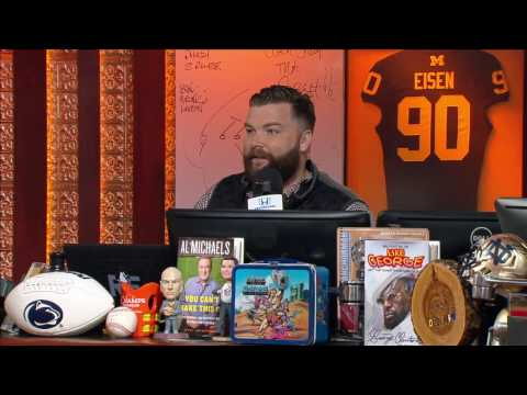 The Guys Comment on The Controversy Surrounding Eli Manning & His Helmet - 4/20/17