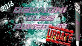 update 2016 demarini cl22