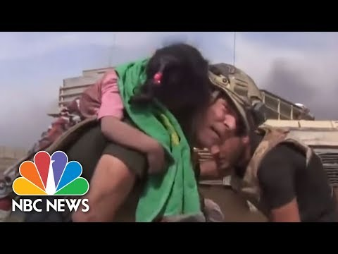 U.S. Humanitarians Risk Their Lives To Save Injured Civilians On ISIS Front Line | NBC News