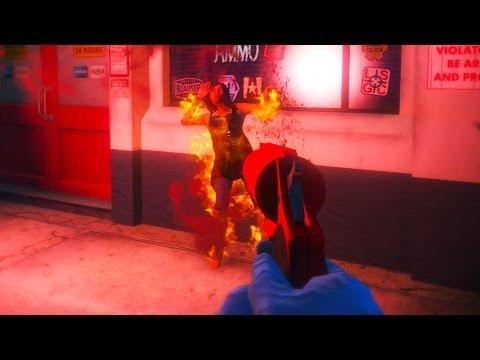 Funny Flare Gun Moments - GTA 5