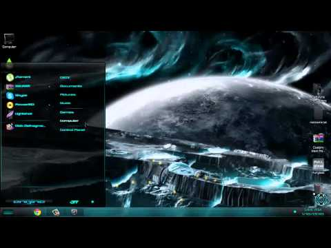New Era Perfect Light Blue Windows 7 theme