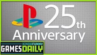 PlayStation's 25th Anniversary Memories - Kinda Funny Games Daily 12.03.19