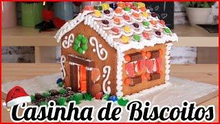 Receita de Natal   Como Fazer Uma Casa de Biscoitos   How to Make a Gingerbread House   Cakepedia
