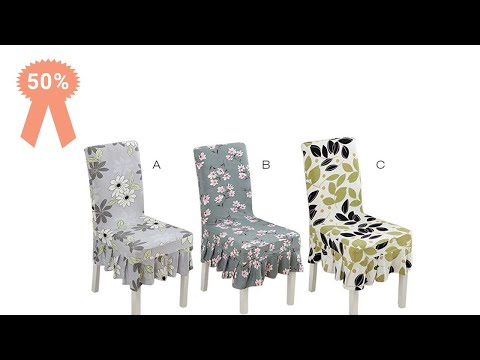 Best Dining Chair Covers In India| Stylish Chair Slipcovers For Interior Decoration