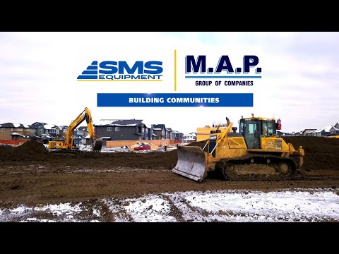 M.A.P. Group Is Building Communities With SMS Equipment