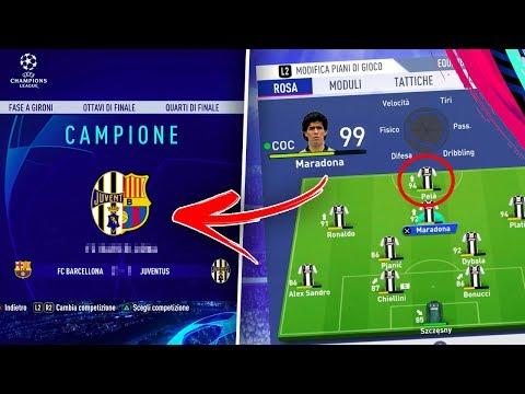 Guardate COSA SUCCEDE se PROVI a VINCERE la CHAMPIONS con le LEGGENDE DI FIFA 19