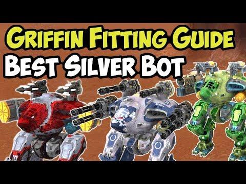 War Robots - BEST Silver Bot - Griffin Fitting Guide & FAQ