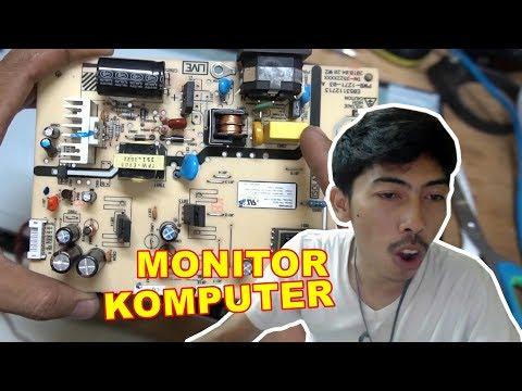 Monitor Rusak Mati Total itu Paling Mudah VLOG158