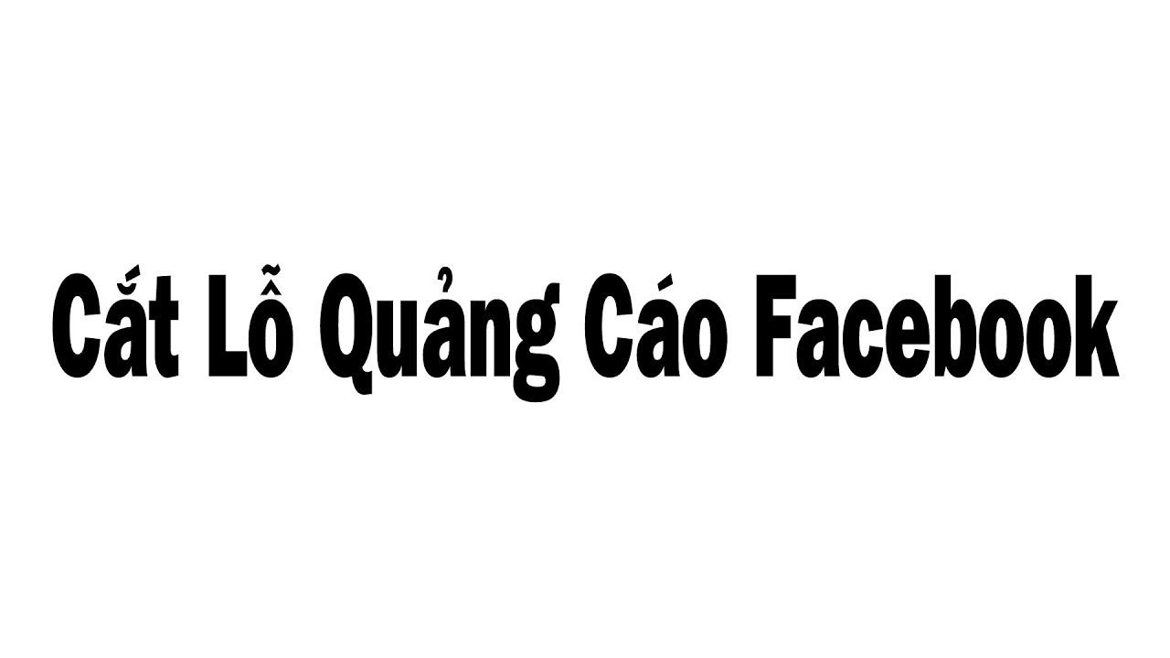 Hướng Dẫn Cắt Lỗ Quảng Cáo Facebook, Để Chạy Quảng Cáo Với Chi Phí Rẻ  Phải Biết Quản Trị Quảng Cáo