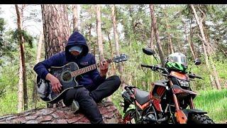 """Исполнил на Гитаре песню """"Bakhtin - Давай назад"""" / guitar cover видео"""