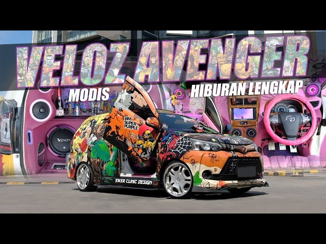 Modifikasi Toyota Avanza Veloz Paling Gokil | Audio SQL & SQ by Venom Car Audio
