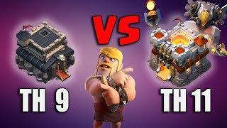 Th9 VS Th11 Legend League Trophy Confirm Attack Strategy 2018 | Best  Attack For Th9 Legend League