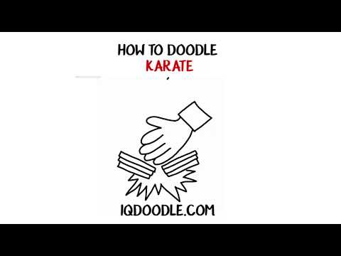 How to Draw Karate (drawing tips)