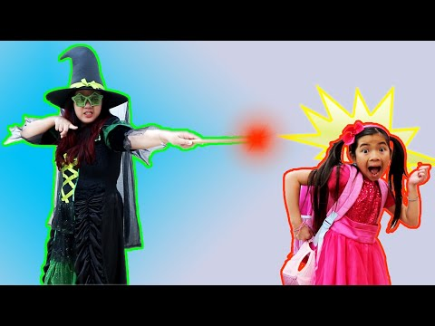 Emma Pretend Play Magic Adventures of a Clumsy Kid | Funny Kids Video
