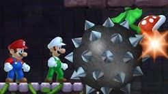 Newer Super Mario Bros. Wii - Walkthrough - 2 Player Co-Op #03