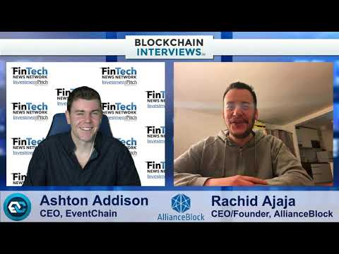 Rachid Ajaja, CEO & Founder of AllianceBlock, Decentralized Capital Markets | Blockchain Interviews