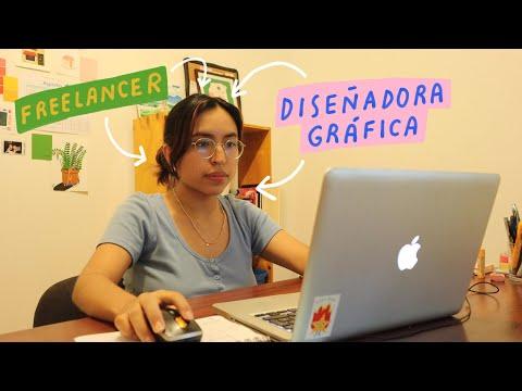 Un día en la vida de una Diseñadora Gráfica - Trabajo + Freelance