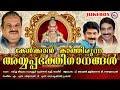 കേൾക്കാൻ കാത്തിരുന്ന അയ്യപ്പ ഭക്തിഗാനങ്ങൾ | AyyappaSongsMalayalam | Hindu Devotional Songs Malayalam
