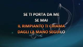 Adamo - Se Mai (Video karaoke)