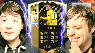 NO WAY DID I GET THE NEW IF DYBALA - FIFA 18 ULTIMATE TEAM PACK OPENING