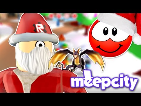 CHRISTMAS DECORATING! | Roblox Meep City LIVE!