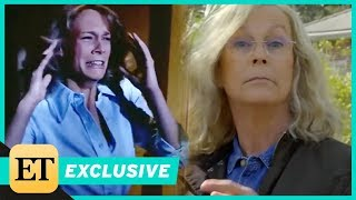 Jamie Lee Curtis Returns to 'Halloween' Set 40 Years After the Original (Exclusive)
