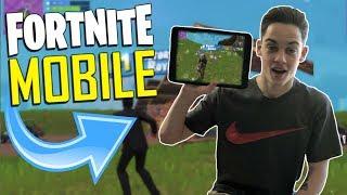 FAST MOBILE BUILDER on iOS / 265+ Wins / Fortnite Mobile + Tips & Tricks!