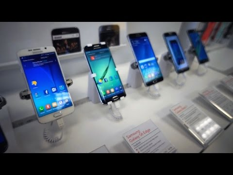 Cell Phone Shopping (Samsung 7 Edge) Day 609 (08/09/16)