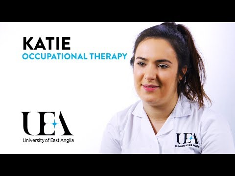 BSc Occupational Therapy – Katie's story | University of East Anglia (UEA)