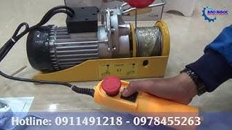 ★Review và hướng dẫn sử dụng máy tời điện HUGO PA400 12m 400kg