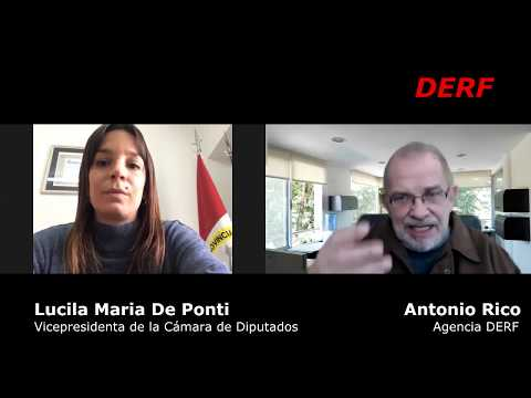 De Ponti: Las mujeres deben ser acompañadas y protegidas por el Estado
