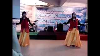 Tarian rebana- Ezra John with Angelisa