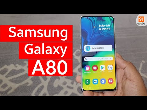 samsung-galaxy-a80:-first-look-|-hands-on-|-price-|-hindi-हिन्दी