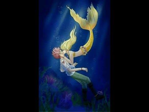 Nalu| A mermaid in love #9 ~Where's her tail?!~