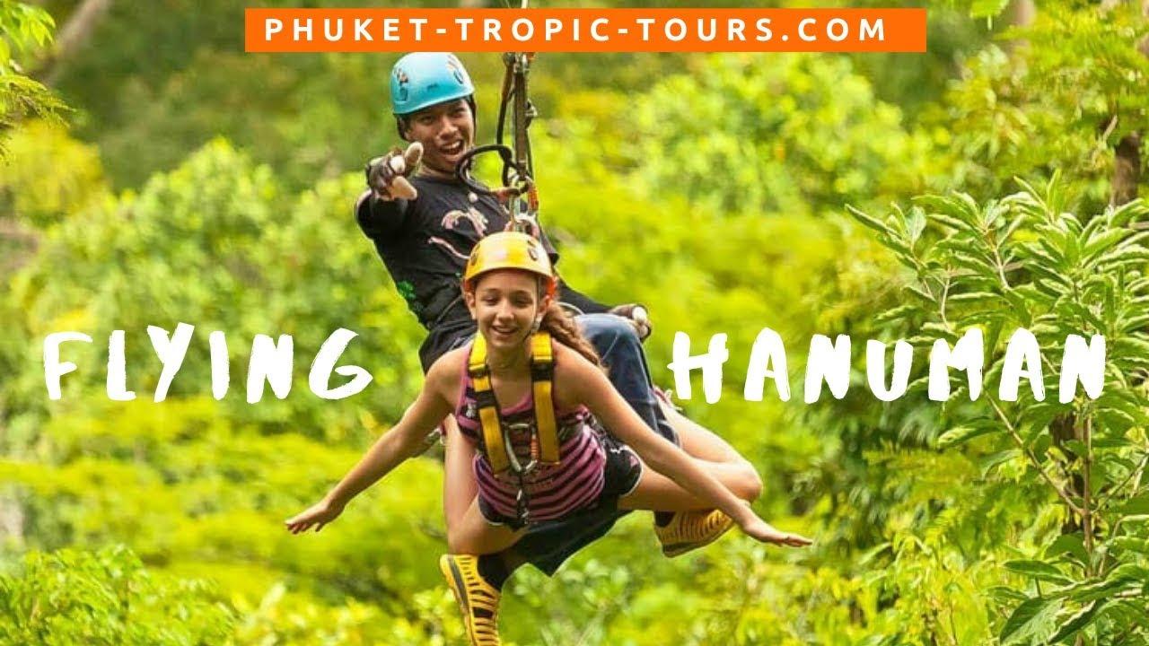 Flying Hanuman Phuket, video overview:
