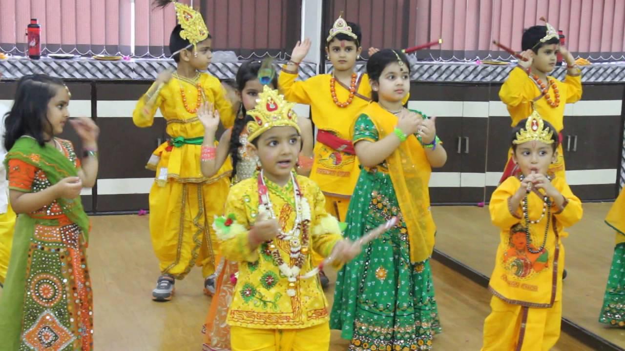 3572235a9 Maiya Yashoda Dance By Kids in krishna Radha Dress