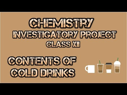 12 cbse chemistry investigatory projects for pdf class