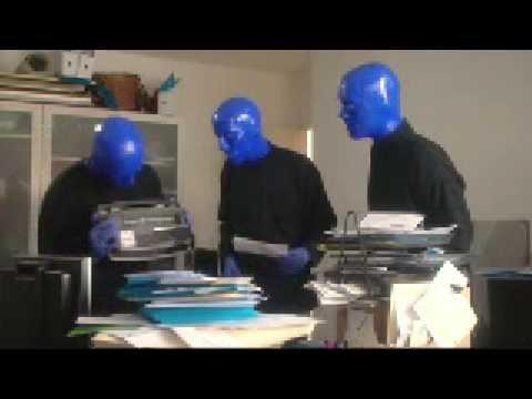 Grupo de comercio binario cielo azul