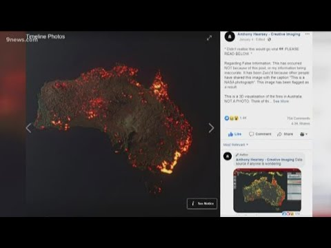 Maps, Satellite Images Show Destruction Across Australia – But They Can Be Misleading