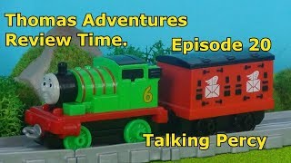 Thomas Adventures Review Time - Episode 20 - Talking Percy.