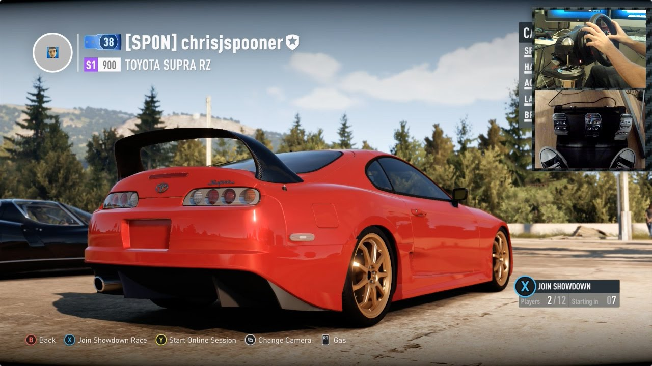 Forza Horizon 2 Tuning My 1000hp Supra With Wheel