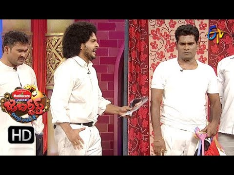 Chammak Chandra Performance |  Jabardasth | 11th October 2018 | ETV Telugu