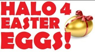 Halo 4 Easter Egg Compilation!