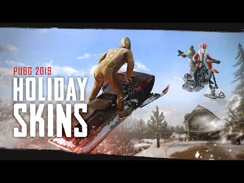 PUBG – New Skins – Holiday 2019