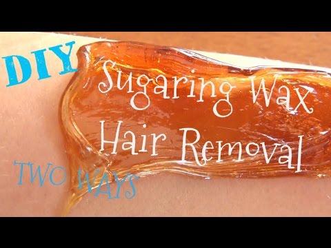 DIY ♥ Sugaring Wax Recipe and Tutorial