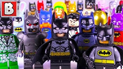 Every LEGO BATMAN Minifigure EVER MADE!!! | $800+ Minifig! | 2018 Collection Review!