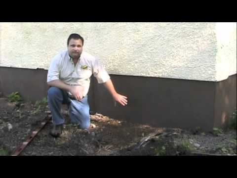 Home improvement tip prevent water in basement with for How to level a house